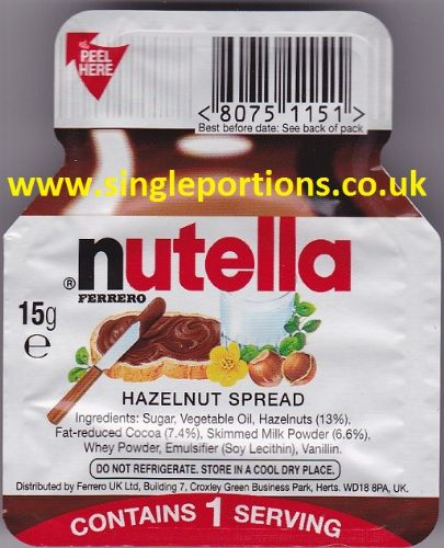 nutella Hazelnut (Chocolate) Spread by Ferrero
